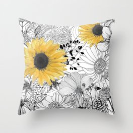 Incidental Throw Pillow