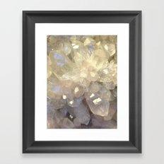 crystal2 Framed Art Print