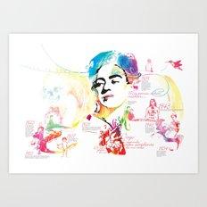 VIVA LA FRIDA Art Print