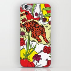 Tiger On The Prowl iPhone & iPod Skin