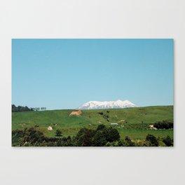 Snow Summit Canvas Print