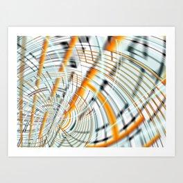 Wormhole Art Print