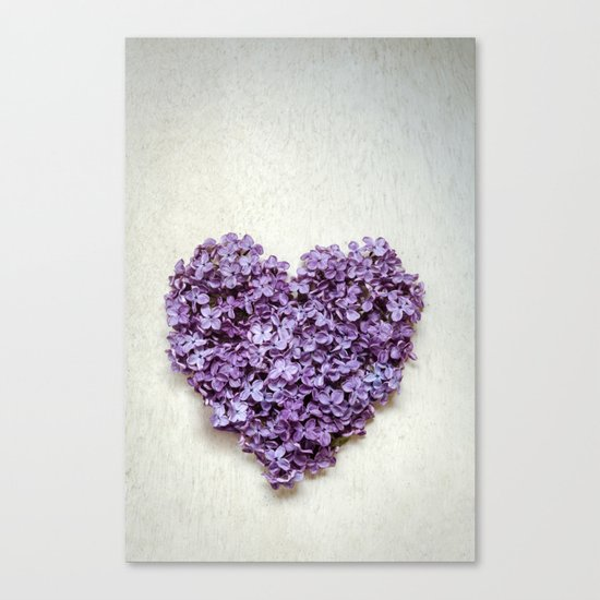Summer Heart Canvas Print