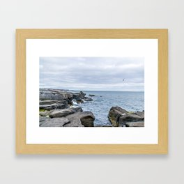Icelandic Shore Framed Art Print