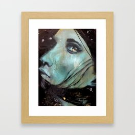 Looking Back Framed Art Print
