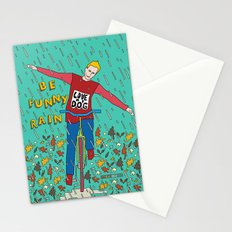 Be Funny Rain Stationery Cards
