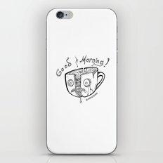 Good Morning Coffee iPhone Skin