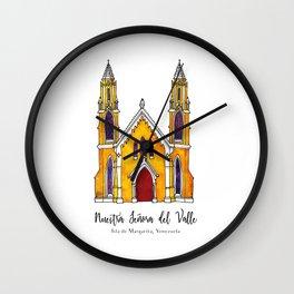 Basilica de Nuestra Senora del Valle Wall Clock