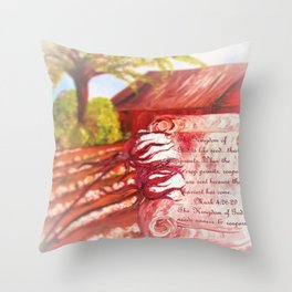 The Kingdom of God Throw Pillow