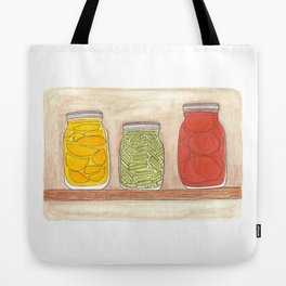 Canning Tote Bag