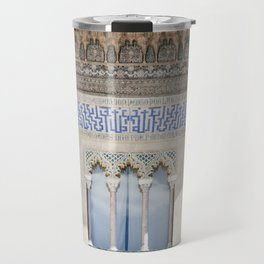 Window Detail at Royal Alcazar of Seville Travel Mug