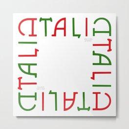 """""""TALIA"""" Invertible Design Metal Print"""