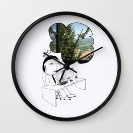 Pod Daze - Ah, Italia! Wall Clock