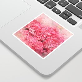 Pink bloom Sticker