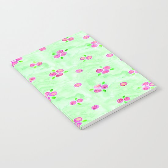 Roses Pattern 01 Notebook