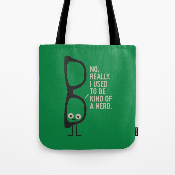 Nerd Is the New Black Tote Bag