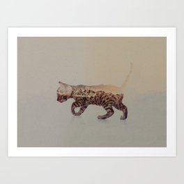 Cat: Bengal Kitten Art Print