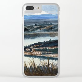 Cougar mountain Million dollar view, Seattle Clear iPhone Case
