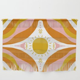 sunshine mandala Wall Hanging