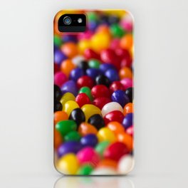 Rainbow Jelly Beans Candy iPhone Case