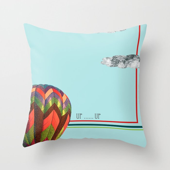 Up...up Throw Pillow