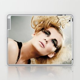 Glamorous Woman portrait Laptop & iPad Skin