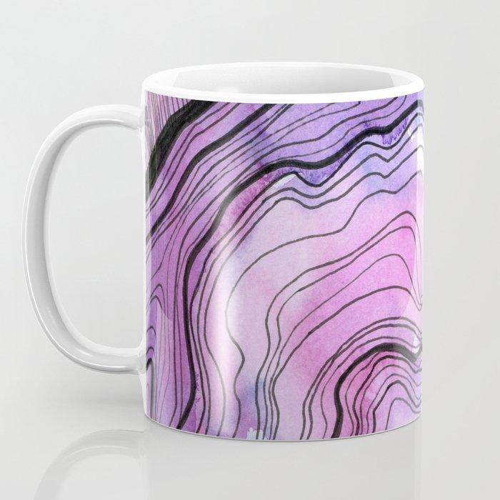 Amethyst Agate I Coffee Mug