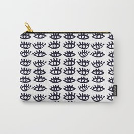 eyes print Carry-All Pouch