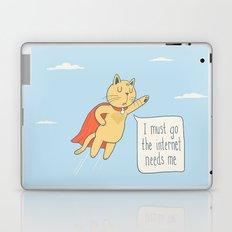 Internet Cat Laptop & iPad Skin