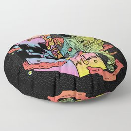 Space Arcade Floor Pillow