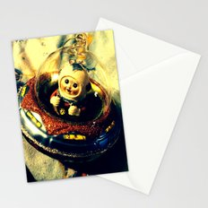 A Flying Saucer Christmas Stationery Cards