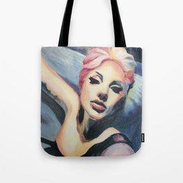 LadyGaga takes a Selfie Tote Bag
