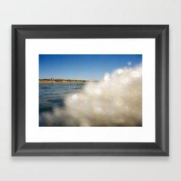 OceanSeries5 Framed Art Print