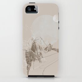 Lunar Thoughts iPhone Case