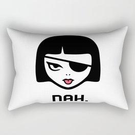 Patchy Says Nah. Rectangular Pillow