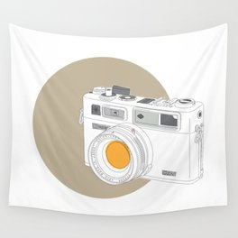 Yashica Electro 35 GSN Camera Wall Tapestry