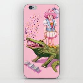 My Pet Crocodile iPhone Skin