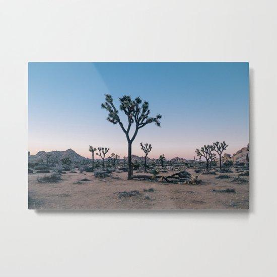 Joshua Tree at Sunset Metal Print
