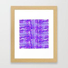 UVTRA_V Tile Framed Art Print