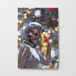 Samantha-Holiday version Metal Print