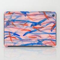 swim iPad Cases featuring Swim by Sandra Arduini