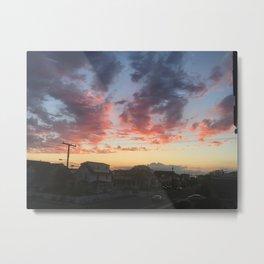 Summer Skies Metal Print