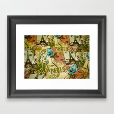 Paris in Spring Framed Art Print
