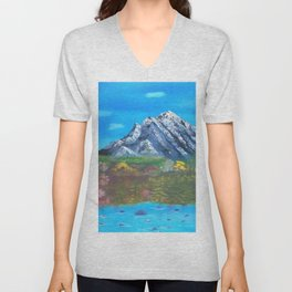 Mountain Valley Unisex V-Neck