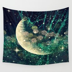Moon Dust Wall Tapestry