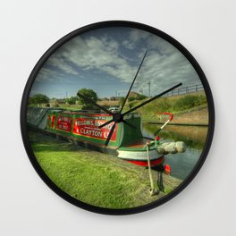 Stourport Bramble Wall Clock