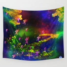 """""""Cupids Assault"""" by surrealpete Wall Tapestry"""
