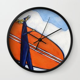 Rise Up. Stand Tall Wall Clock