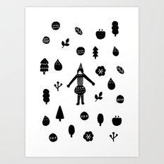 Little Forest  Art Print