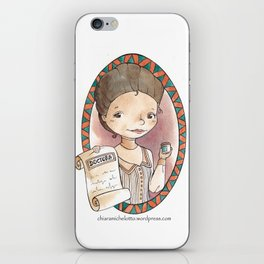 Gregoria Casas iPhone Skin
